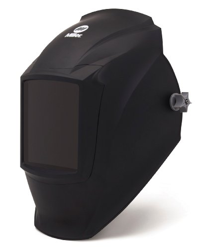 Passive Welding Helmet, Black, Classic MP-10, 8 to 12 Lens S