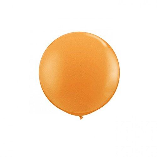 Qualatex 42736 Orange Latex Balloons, 36