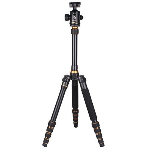 CowboyStudio BK-777 180 degree Folded Design Alu-alloy Camera Tripod Monopod with Ball Head & Carrying Bag by CowboyStudio