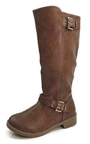 c47e4107d Steven Ella Women s Holly Ankle Bootie Criss Cross Faux Leather Flat Heel  Zipper. Ankle   Bootie. Steven Ella · Image of Steven Ella Girl s Knee High  Boots ...
