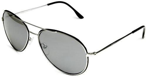Frame Shiny sol Glory de Aviador Mirror Silver Gafas Lens Palladium S8299 Police w1gqTxw