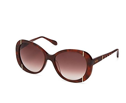 Moschino Women's Oversized Quilted Sunglasses, 56mm Tortoise - Style #MO742S02 by MOSCHINO