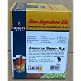 American Brown Ale (Brewer's Best One Gallon Home Brew Beer Ingredient Kit (American Brown Ale) by Home Brew Ohio)