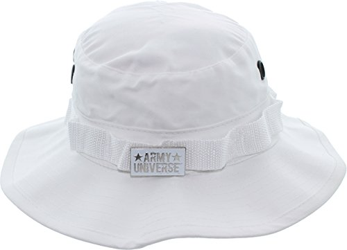 Army Universe White Tactical Boonie Bucket Hat Pin - Size X-Large 7 - Hat White Pin