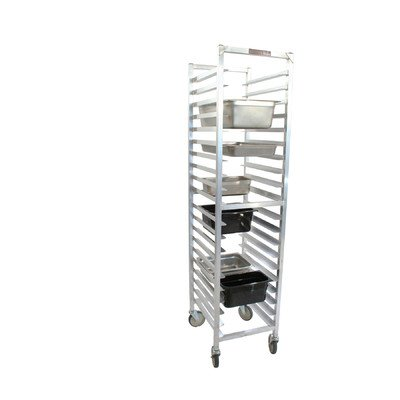 PVIFS WE3020KD-SP Knock-Down Steam Table Pan Rack, Full Size 18 Pan Capacity, 20'' Length x 17'' Width x 71-1/2'' Height by PVIFS