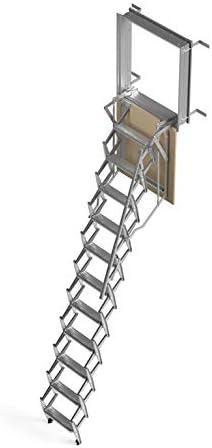 Mister Step Escalera escamoteable para buhardillas ADJ (70 x 50 cm ...
