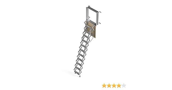 Mister Step Escalera escamoteable para buhardillas ADJ (70 x 70 cm.): Amazon.es: Bricolaje y herramientas