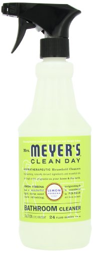 Mrs. Meyer's Clean Day Bathroom Cleaner, Lemon Verbena, 24 Ounce