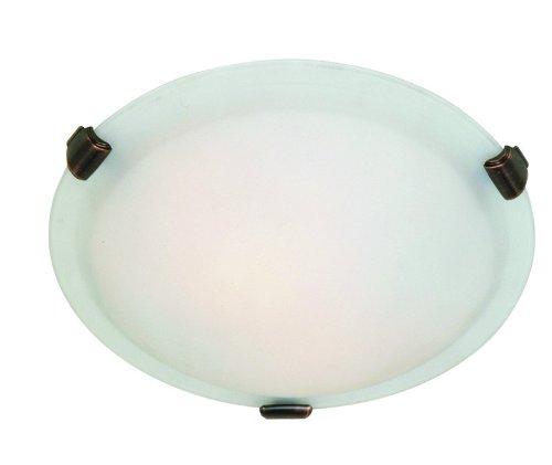 Clip Flush Brunito (Artcraft Lighting Clip Flush Large Round Flush Mount Light, Brushed Nickel)
