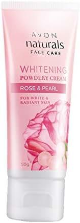Avon Whitening Powdery Cream Rose & Pearl(50 g)