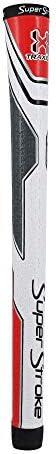 SuperStroke Traxion Tour Golf Club GripGeavanceerde oppervlaktestructuur die feedback en Tack verbetertExtreme Grip biedt stabiliteit en feedbackZelfs handdruk