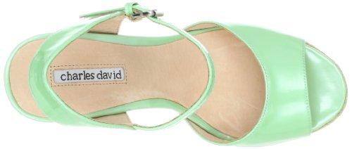 Charles David Womens Octaaf Platform Sandaal Mint