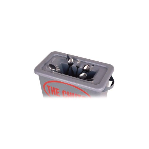 Golden West 2318 The Chute Gray Flatware Trap For 23 Gal. Containers by The Chute