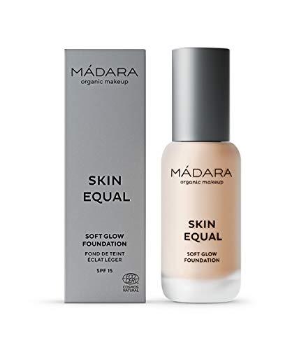 MÁDARA | Skin Equal Grundierung für sanftes Strahlen LSF15, 20 IVORY, 30 ml