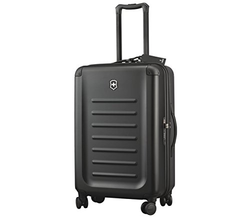 Victorinox Spectra 2.0 Medium Hardside Spinner Suitcase, 27-Inch, Black ()