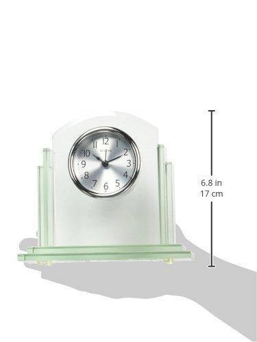Bulova Statement Office Clock, Silver
