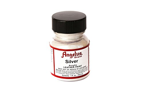 Springfield Leather Company's Silver Acrylic Leather Paint(1 oz)