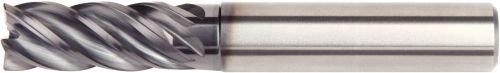 10 mm Cutting Diameter 0.5 mm Radius WIDIA Hanita 57NC10024W VariMill II 57NC HP End Mill Carbide Weldon Shank RH Cut AlTiN Coating 5-Flute