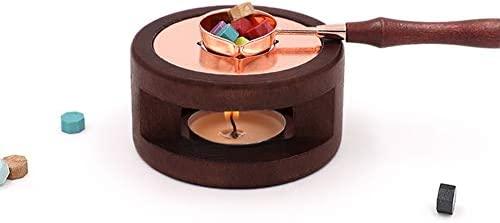 Kit de sello de cera vintage, sellador de cera calentador de ...
