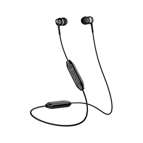 chollos oferta descuentos barato Auricular Sennheiser CX 350BT Wireless con tirilla al Cuello Negro