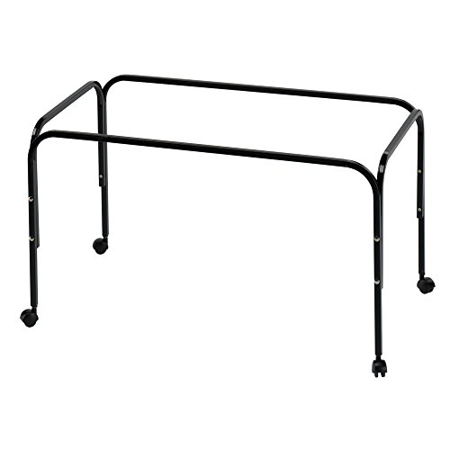 Ferplast Stand 100 Rabbit Cage Metal Stand (35.2 x 20.2 x 19.5in) (Black)