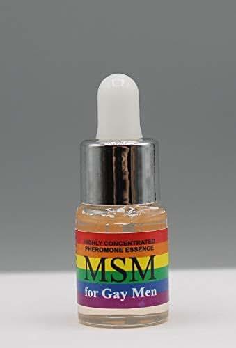 PheroCode MSM 0.17 Fl. Oz 100% Pheromone for Gay Men Ultra Strong Attract Men