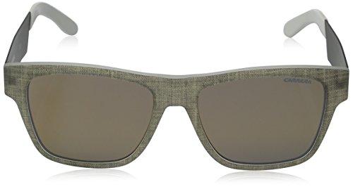 Carrera de Matte soleil Lunette Grey Ruthenium Silver 5002 Rectangulaire r4rPwq