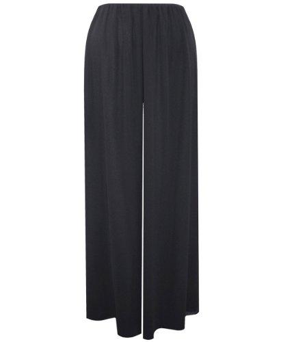 Plus Size Black Night Out Pants --Size: 1x Color: Black