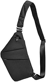 OSOCE Anti-Theft Waterproof Shoulder Backpack Sling Chest Crossbody Bag Cover Pack Rucksack Bicycle Sport (B13