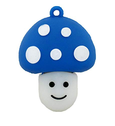 USB Flash Drive Memory Stick with U Disk Thumb Pen USB2.0 Novelty Mini Lovely Mushroom Cartoon U Disk 4/8/16/32/64/128GB High Speed Portable Toy Christmas Giftt (64GB, - Drive Usb Disk Floppy Pocket
