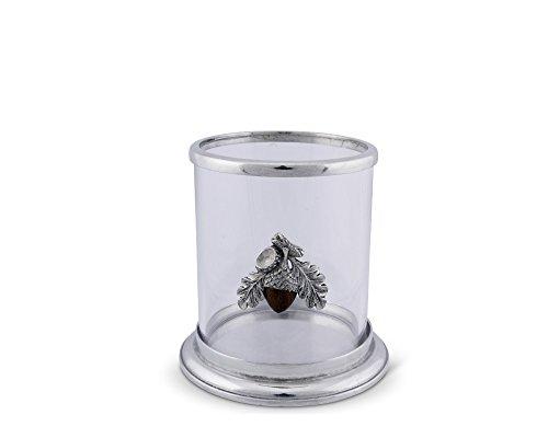 (Vagabond House Small Acorn Pillar Candle Holder 4