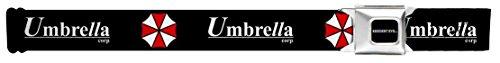 Resident Evil Umbrella Corp Seatbelt - Buckle Evil