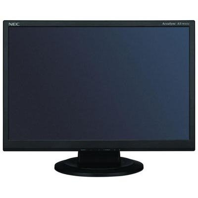 Price comparison product image NEC Display Solutions AS191WM-BK 19-Inch 5ms 250 cd / m2 1000:1 Widescreen LCD Monitor (Black)
