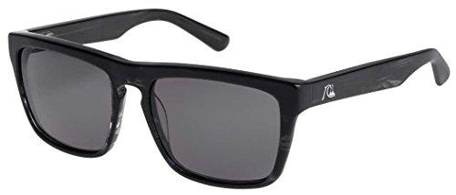Quiksilver The Ferris M.O. Sunglasses - Shiny Black (Quiksilver Mens Foundation)