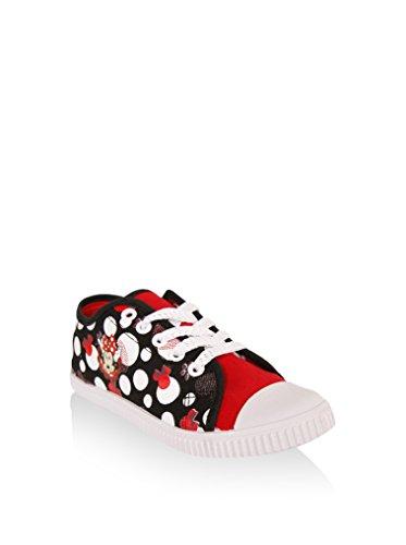 DM000843 RED f眉r BLACK M盲dchen Sneaker B4253 DISNEY Sneaker f眉r x1qvWwXa