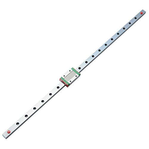 ReliaBot 500mm MGN12 Linear Rail Guide with MGN12H Carriage Block for 3D Printer and CNC Machine