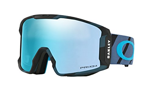 Oakley Line Miner Prizm Snow Goggles Hazard Blue with Prizm Sapphire Iridium - New Oakley Goggles Snow