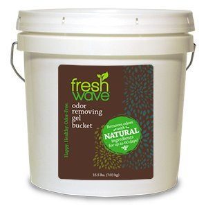 Fresh Wave Continuous Release Odor Eliminating Gel, 2-Gallon Bucket by Fresh Wave