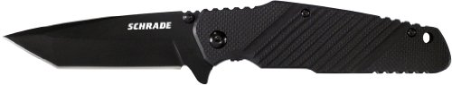 (Schrade SCH108TB Liner Lock Fully Honed Folding Knife)