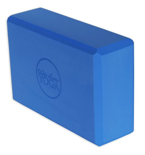 Wai Lana Yoga Block, Blue, 3-Inch