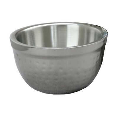Artisan Insulated, Double-Wall Stainless Steel Serving Bowl, 3-Quart Capacity
