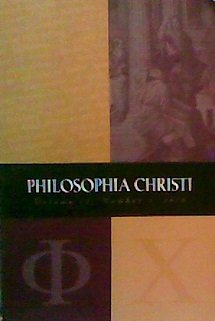 Book cover from Philosophia Christi (Volume 12, Number 1) by R. J. Snell