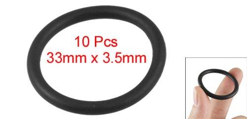 33 Millimetri x 26 mm x 3,5 O-Ring Filtro Olio Guarnizione di Gomma Sigilla mm 10 Pezzi s14100400am1026 Amico