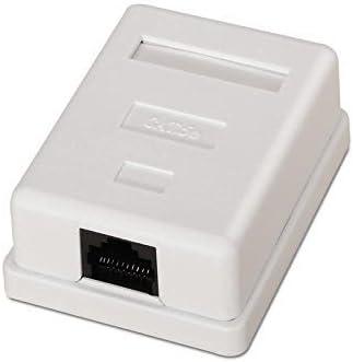 Caja de Superficie de 1 RJ45 Cat 5e UTP, Cablepelado: Amazon.es: Electrónica