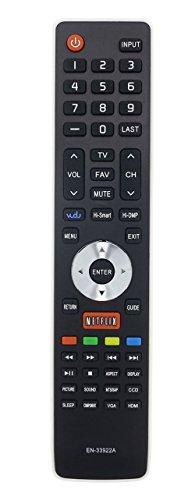 Universal Remote Control for Hisense TV 50K610GW 55K610GW 40