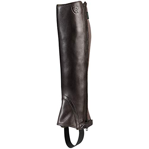ARIAT Unisex Breeze Half Chap Chocolate Size Medium