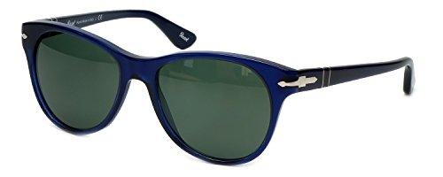 Persol PO3134S 18131 Blue PO3134S Wayfarer Sunglasses Lens Category 3 Size - Sunglasses Persol Italian