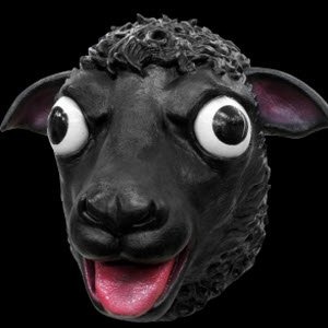 Black Sheep Mask ()