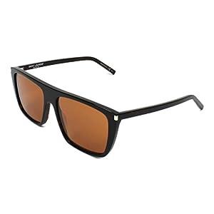 Yves Saint Laurent SL156 004 56mm Avana / Brown Sunglasses