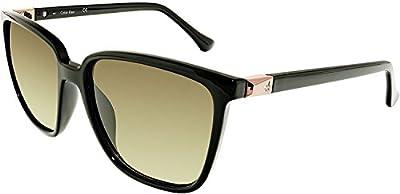 Calvin Klein Gradient CK3192S-5716001 Black Wayfarer Sunglasses